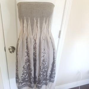 Lapis tube dress